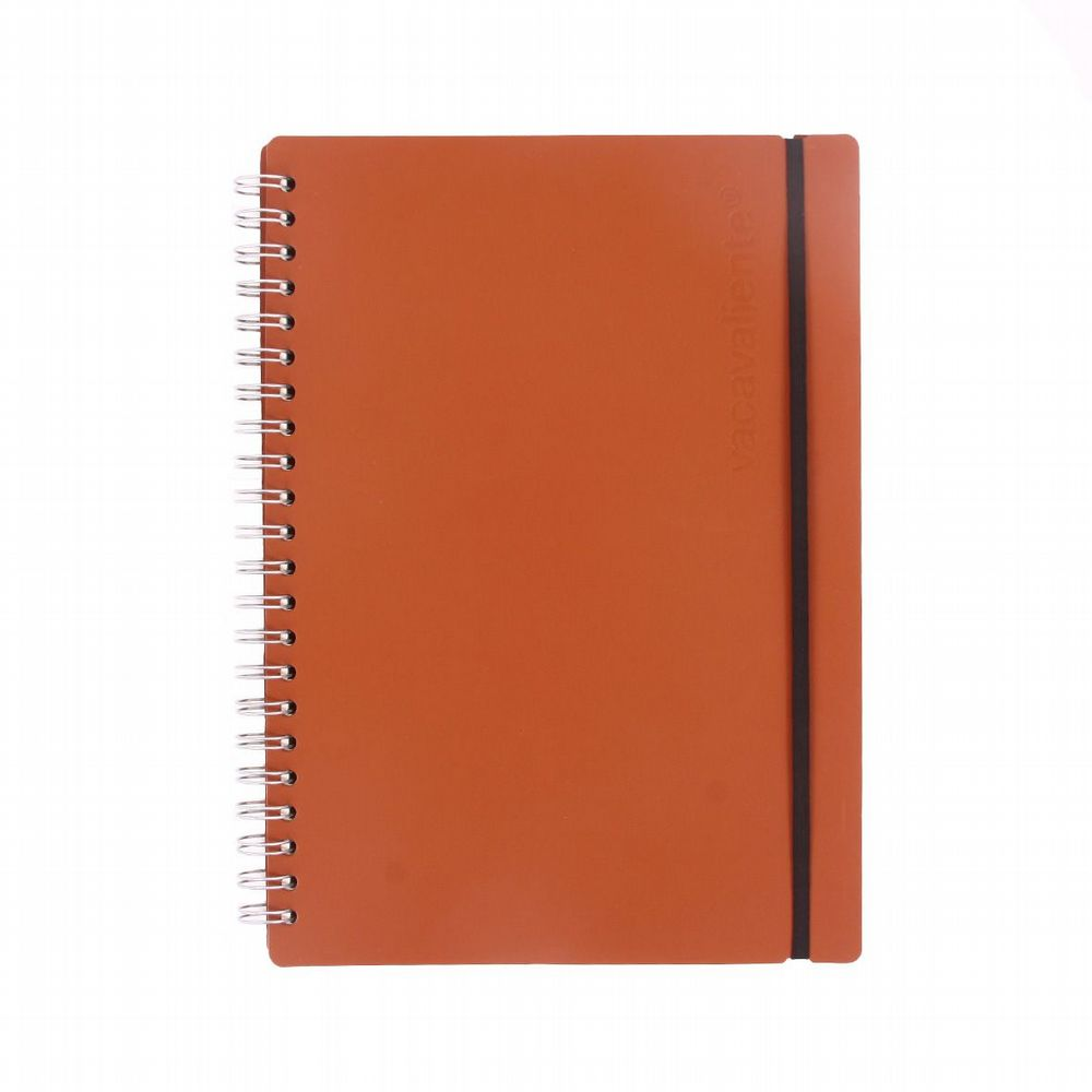 Recycled Leather - Ruled Notebook  - Tan